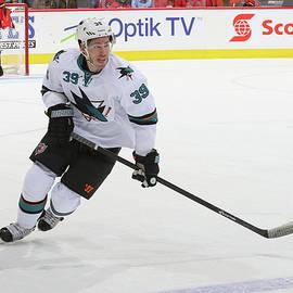 San Jose Sharks V Calgary Flames by Brad Watson