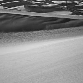 Sand Dunes Abstract by Aaron Spong