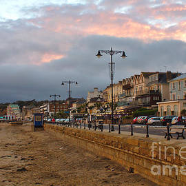Sandown Esplanade At Sunset by Jeremy Hayden