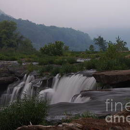 Timothy Connard - Sandstone Falls at Daybreak