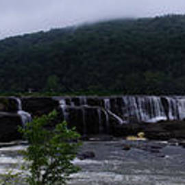 Timothy Connard - Sandstone Falls Panorama From Summers County