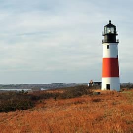 Marianne Campolongo - Sankaty Head Lighthouse Nantucket in Autumn Colors