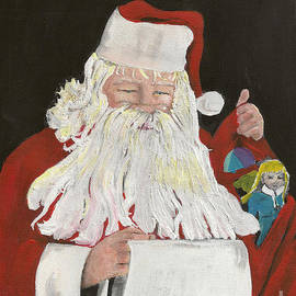 Santa Claus Is Coming To Town - Making A List by Jan Dappen