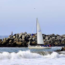 Santa Cruz Harbor by AJ  Schibig