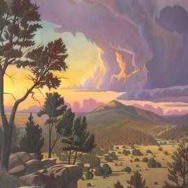 Santa Fe Baldy - Detail by Art West