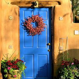 Santa Fe Door by John Babis