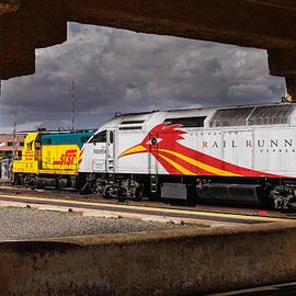 Santa Fe Train by John Johnson