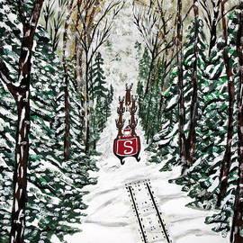 Jeffrey Koss - Santa Flying To Your House