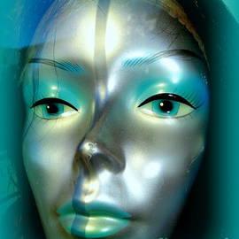 Sara In Silver by Ed Weidman