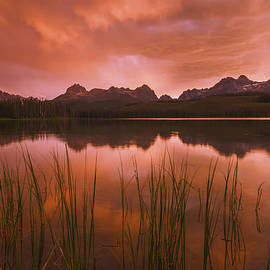 Vishwanath Bhat - Sawtooth sunset Stanley Idaho