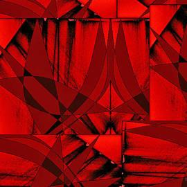 Scarlet Geometry by Dee Flouton