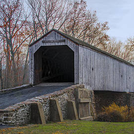 Bill Cannon - Schofield Ford Covered Bridge - Tyler State Park
