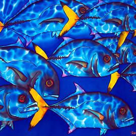 Daniel Jean-Baptiste - Schooling  jack fish