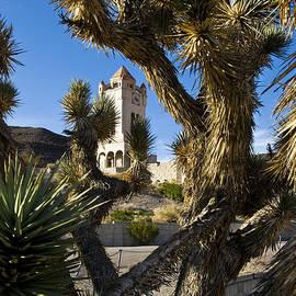 Scotty's Castle In Death Valley California by Pam  Elliott