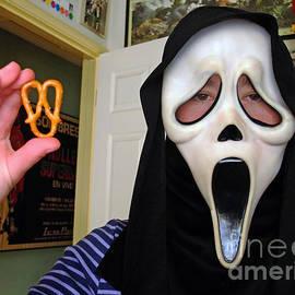 Scream and the Scream Pretzel by Jim Fitzpatrick