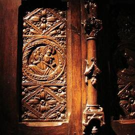 What Is Behind The Sculpted Door by Cristina Stefan