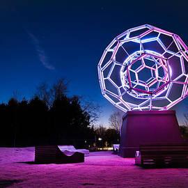 Gregory Ballos - Sculptures of Light - Crystal Bridges Art Museum