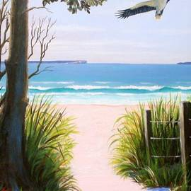 Anne Gardner - Sea eagle at Jervis Bay