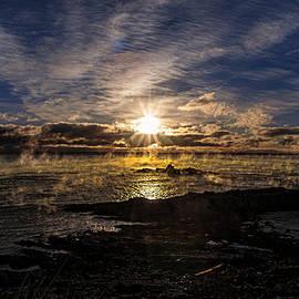 Marty Saccone - Sea Smoke Panorama
