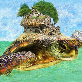 Sea Turtle Island by Jane Schnetlage