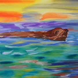 Sunny Sea Lion by Meryl Goudey
