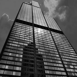 Thomas Woolworth - Sears Willis Tower Black and White 02