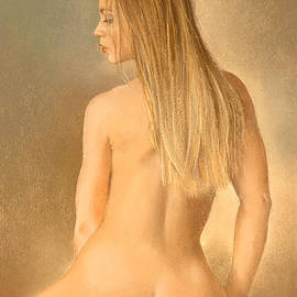 Seated Nude by Margaret Merry