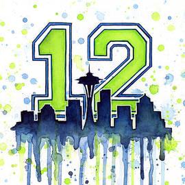 Seattle Seahawks 12th Man Art