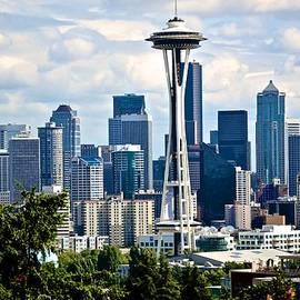 Seattle Skyline 1 by Ricardo J Ruiz de Porras
