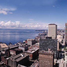Seattle Waterfront Washington State 1989 by Mr Pat Hathaway Archives