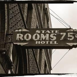 Seattle's Pioneer Square - Historic State Hotel by Jordan Blackstone