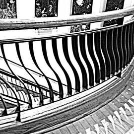 Pamela Hyde Wilson - Second Floor in Black and White