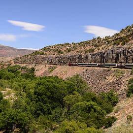 Sedona Train by John Johnson
