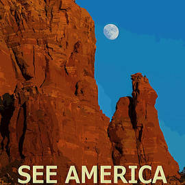 See America - Coconino National Forest by Ed Gleichman