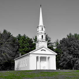 Brian Mooney - Selective color Chapel