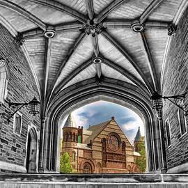 selective colors Princeton University by Geraldine Scull