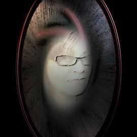 Ines Garay-Colomba - Self-portrait-3B
