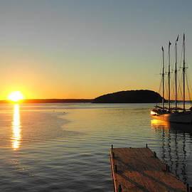 September Sunrise Bar Harbor Maine