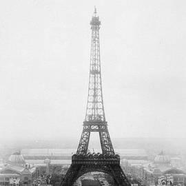 Series 6 Eiffel Tower Under Construction by Deb Schense