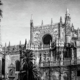 Joan Carroll - Seville Cathedral Morning Light BW