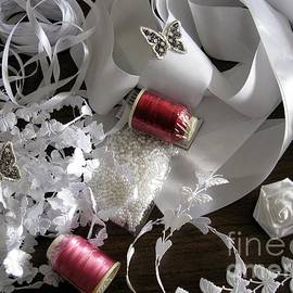 Ausra Huntington nee Paulauskaite - Sewing Project In White And Red