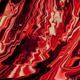 Adri Turner - Shades of Red and Black Blending Together Flowing Rippled Motion
