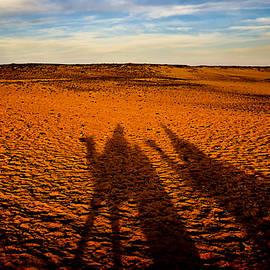 Shadows On The Sahara by Mark Tisdale
