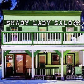 Shady Lady Saloon by Janice Pariza