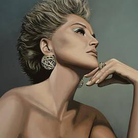 Sharon Stone by Paul Meijering