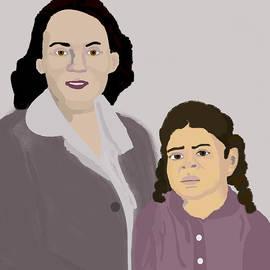 Pharris Art - She and Her Mother