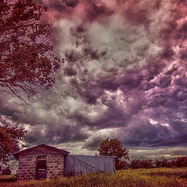 Shed against the Storm by Toni Hopper
