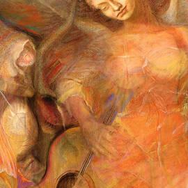 Brooks Garten Hauschild - Shedding a Little Light on the Situation - Original Art by Brooks