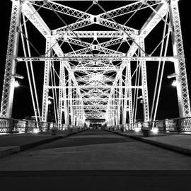 Dan Sproul - Shelby Street Bridge At Night In Nashville
