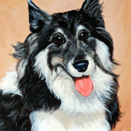 Sheltie by Art By - Ti   Tolpo Bader